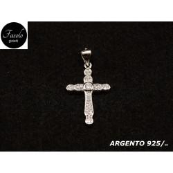 Croce con zirconi
