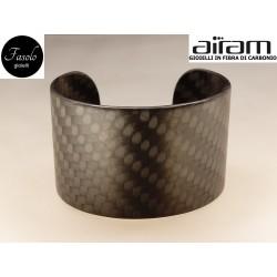 Bracciale in vero carbonio - Fasolo Gioielli Torino -