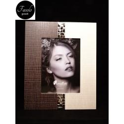 Portafoto 13 X 18 in legno e argento
