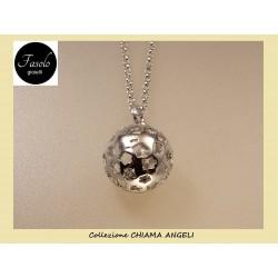 Ciondolo CHIAMA ANGELI con ANGIOLETTI in argento