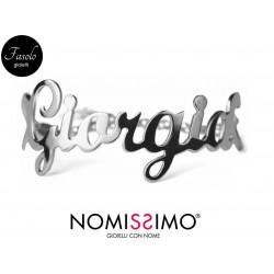 Braccialetto con nome personalizzato - Fasolo Gioielli Torino